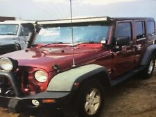 "JEEP   """" WRECKING """" JK WRANGLER 2.8 CRD MANUAL  135 KLM"