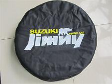 "Spare Tire Cover Fit For Suzuki JIMNY 23""-27"" RHINO 4X4 Black Heavy Duty Vinyl"