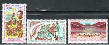 SELLOS DEPORTES FUTBOL. CAMERUM 1970  MEXICO 1970 A-165/7 3v.