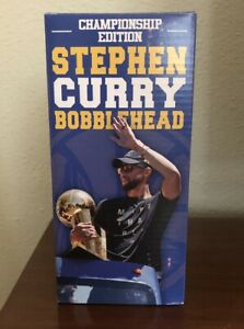 Golden State Warriors Stephen Curry Championship Edition bobblehead [Brand NEW]