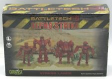 Battletech 35717 Alpha Strike Striker Lance (4 Plastic Mechs) Catalyst Game Labs