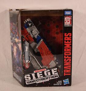 Transformers Siege War For Cybertron Leader Galaxy Upgrade Optimus Prime CIB