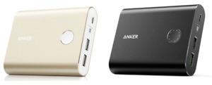 Anker PowerCore+ 13400 mAh 2-Port Premium Portable Charger QC 3.0 w/ 4.8A Output
