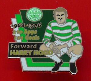 Danbury Mint Pin Badge Celtic Football Club Harry Hood Footballer Forward