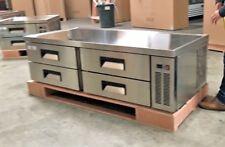 "NEW 72"" Chef Base Refrigerator Cooler Depot Model CB72 4 Drawer Fridge Warranty"