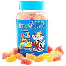 DHA OMEGA - 3 para niños, no gelatina Gummi gomitas 60-Rey Gummi
