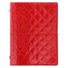 Filofax Pocket Domino Luxe organiser - red