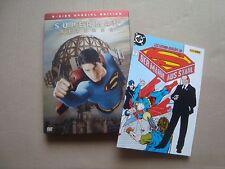 SUPERMAN RETURNS SteelBook  comic magnet Brandon Routh Kevin Spacey DVD