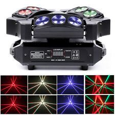 180W 9X LED Stage Light Mini Bird Moving Head Light DMX DJ Disco Party Lighting