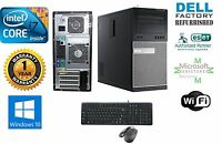 Dell Gaming 9020 TOWER DESKTOP i7 4770 3.4GHz 32GB  1TB SSD+2TB NVIDIA GTX 1060