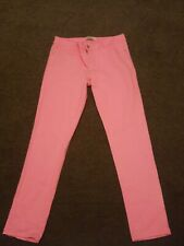 New Look YES YES Size 16 luminous bright Pink Skinny Ladies Jeans festival party