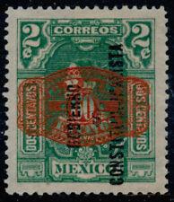 ab42 Mexico #585 60ctv Barril / 2ctv Gob Const. Mint Original Gum Est