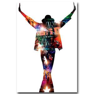 Michael Jackson Dancing Hot Music Singer Silk Poster 13x20 inch 004