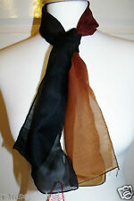 NEW QUALITY EX STORE BROWN FADE TO BLACK WRAP ~ NECK SCARF ~ SCARVE  # BG