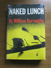 NAKED LUNCH by William S. Burroughs 1st/1st printing  HCDJ VG+  1959 Grove $6.00