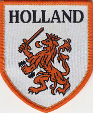 Holland 80's 90's Football Badge Patch 7.6 x 6.3cm Shield