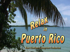 """""""Relaxing in Puerto Rico"""" Travel and Destress with this Video, DVD"""