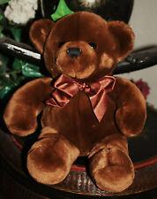 "RARE Eber Toys Malmo Sweden Brown Teddy Bear Plush Toy ""Handtvatt 30'C""  10"" B2"