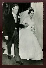 Royalty Princess Margaret Armstrong-Jones Wedding RP PPC 1960