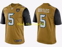 BLAKE BORTLES Jacksonville JAGUARS Nike COLOR RUSH Limited THROWBACK Jersey