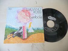 """LUCIANO ROSSI"""" BAMBOLA- disco 45 giri ARISTON Italy 1976"""" PERFETTO"""