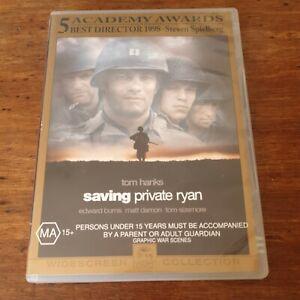 Saving Private Ryan DVD R4 Like New! FREE POST