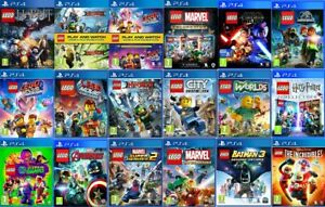 LEGO PS4 Games - MINT - PlayStation 4 Same Day Dispatch via Super Fast Delivery
