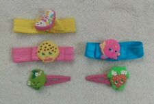 Lot Of New Shopkins Hair Accessories Hair Ties And Clips Dress Up pretend play