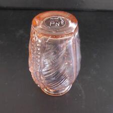 Vase verre art nouveau signature fait main PN Nice France