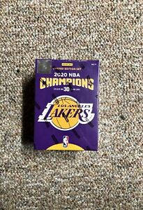 Panini Los Angeles Lakers 2020 NBA Finals Champions Limited Edition