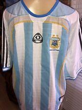 OPTIMUS Argentina AFA Team Soccer Football Jersey Adidas  MED TSB