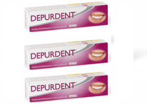 3x Emoform DEPURDENT SWISS Specific Toothpaste for teeth whitening, 3x 50ml