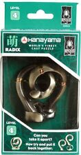 Radix ~ Level 4 ~ BePuzzled Hanayama Cast Metal Brainteaser NEW!