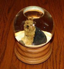 In The Company Of Dogs Snow Globe/ Glitter Globe / Water Globe