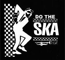 DO THE SKA Patch / Aufnäher NEU Punk Punkrock Oi! Skinhead Rude Skanking SkaPunk