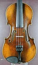 Alte deutsche 4/4Violine mit Brandstempel | Old german violin with branding