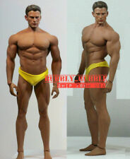 PHICEN 1/6 Captain America Chris Evan M34 Seamless Male Muscular Figure Set☆USA☆
