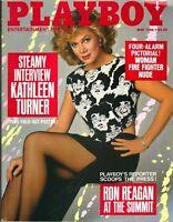 PLAYBOY MAY 1986 Christine Richters Kathleen Turner Janet Hightower Kim Basinger