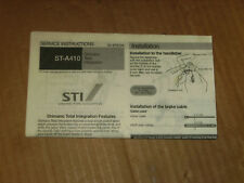 Shimano STI ST-A410 RSX 7 Speed Service Instructions English