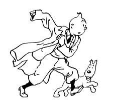 Tintin Car Decal / Sticker