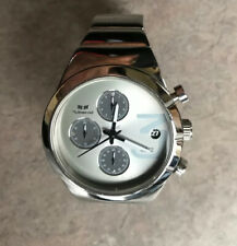 Vestal Madera All Stainless Steel Chronograph Womens Watch in Silver Tone Bin H