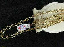GoldNMore: 18K Gold Necklace 24 inches YG chain