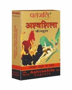 Ashvashila Patanjali Ashwashila Blend of Silajit Ashwagandha 20 to 400 Capsules