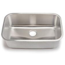 "30"" x 18"" Single Bowl Stainless Steel Kitchen Sink"