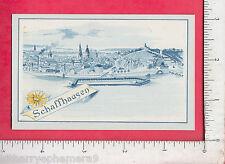 8174 J. D. Stiefel medicine soap trade card, Schering Glatz NYC Schaffhausen