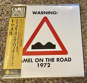 Camel - On The Road 1972 Rare Japan Mini LP CD