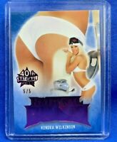 KENDRA WILKINSON 2019 Benchwarmer 40th National Pink Foil National Bums Card /5