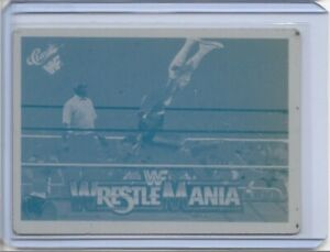 1 OF 1 DUSTY RHODES 1991 CLASSIC CARDS LOT PRINTING PRESS PLATE 1/1 WRESTLING