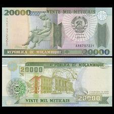 Mozambique 20000 Meticais, 1999, P-140, UNC