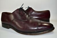 Allen Edmonds Park Avenue Mens Leather Dress Shoes Cap Toe Oxford Size 12 D